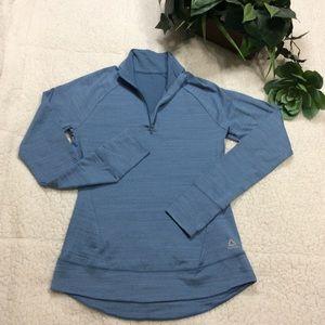 Reebok Blue Long Sleeve Thumbhole Jacket S